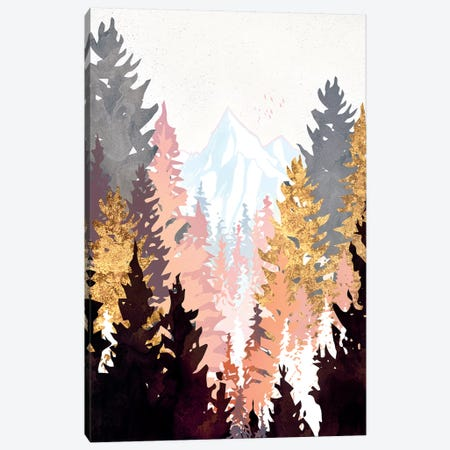 Wine Forest. Canvas Print #SFD168} by SpaceFrog Designs Canvas Wall Art