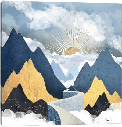 Bright Future II Canvas Art Print