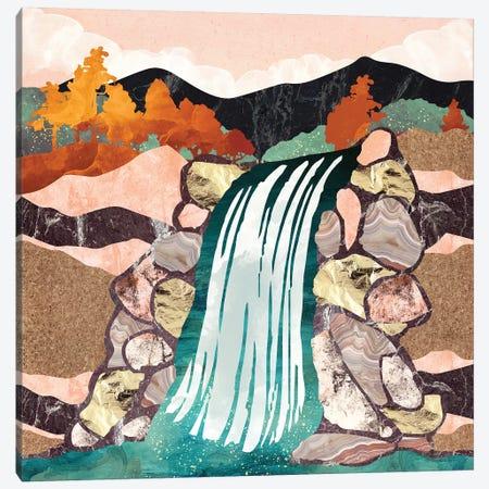 Autumn Falls Canvas Print #SFD172} by SpaceFrog Designs Art Print