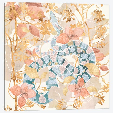 Coral Spring Garden Canvas Print #SFD177} by SpaceFrog Designs Canvas Art