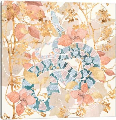 Coral Spring Garden Canvas Art Print