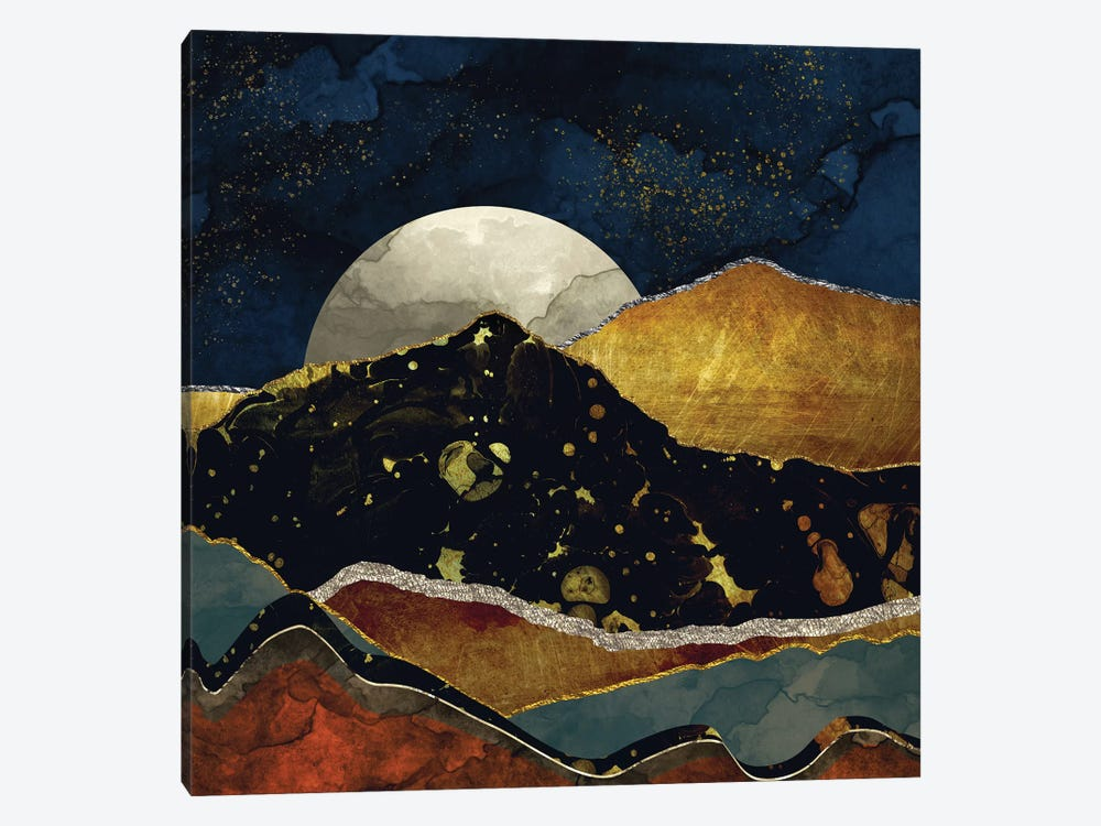 Bronze Night by SpaceFrog Designs 1-piece Canvas Print