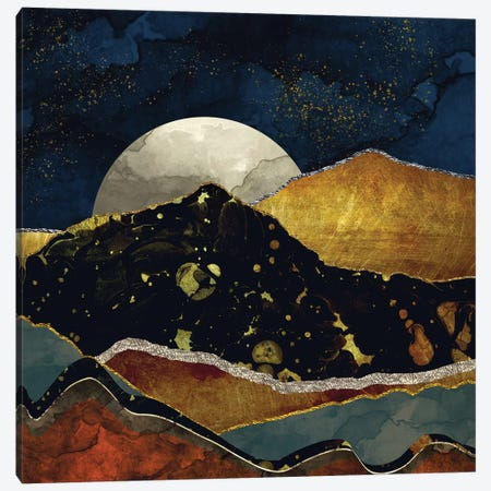 Bronze Night Canvas Print #SFD17} by SpaceFrog Designs Canvas Print