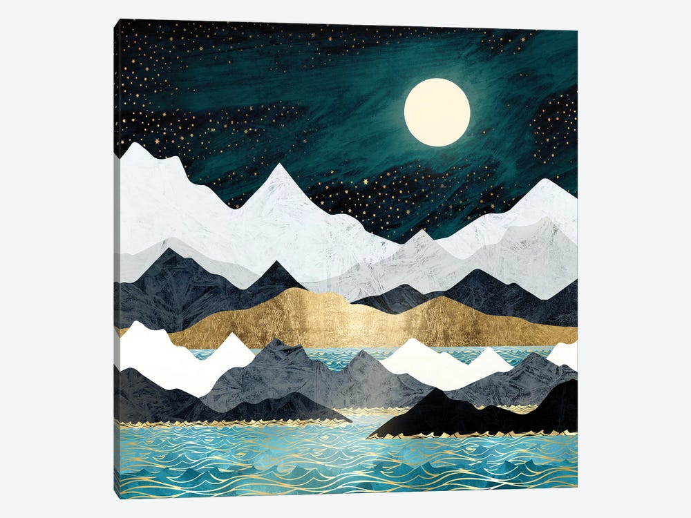 Ocean Stars by SpaceFrog Designs 1-piece Canvas Wall Art