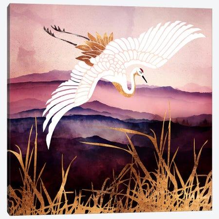 Elegant Flight III Canvas Print #SFD182} by SpaceFrog Designs Canvas Art