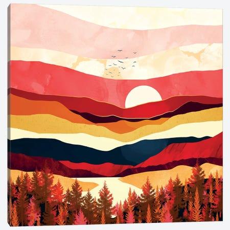 Scarlet Spring Canvas Print #SFD186} by SpaceFrog Designs Canvas Print