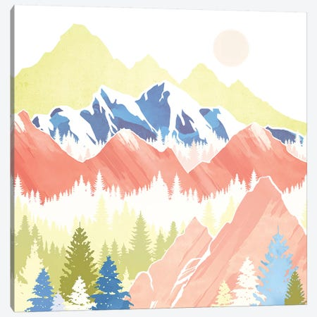 Spring Hills Canvas Print #SFD187} by SpaceFrog Designs Canvas Art Print