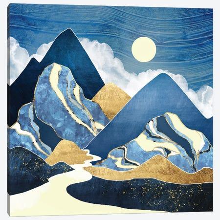 Moon River 3-Piece Canvas #SFD193} by SpaceFrog Designs Art Print