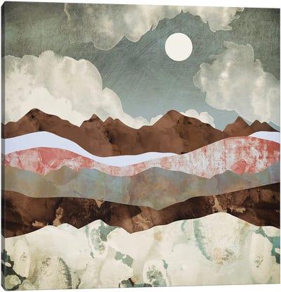 Cloudy Night Canvas Art Print