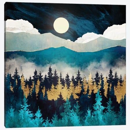 Evening Mist Canvas Print #SFD200} by SpaceFrog Designs Art Print