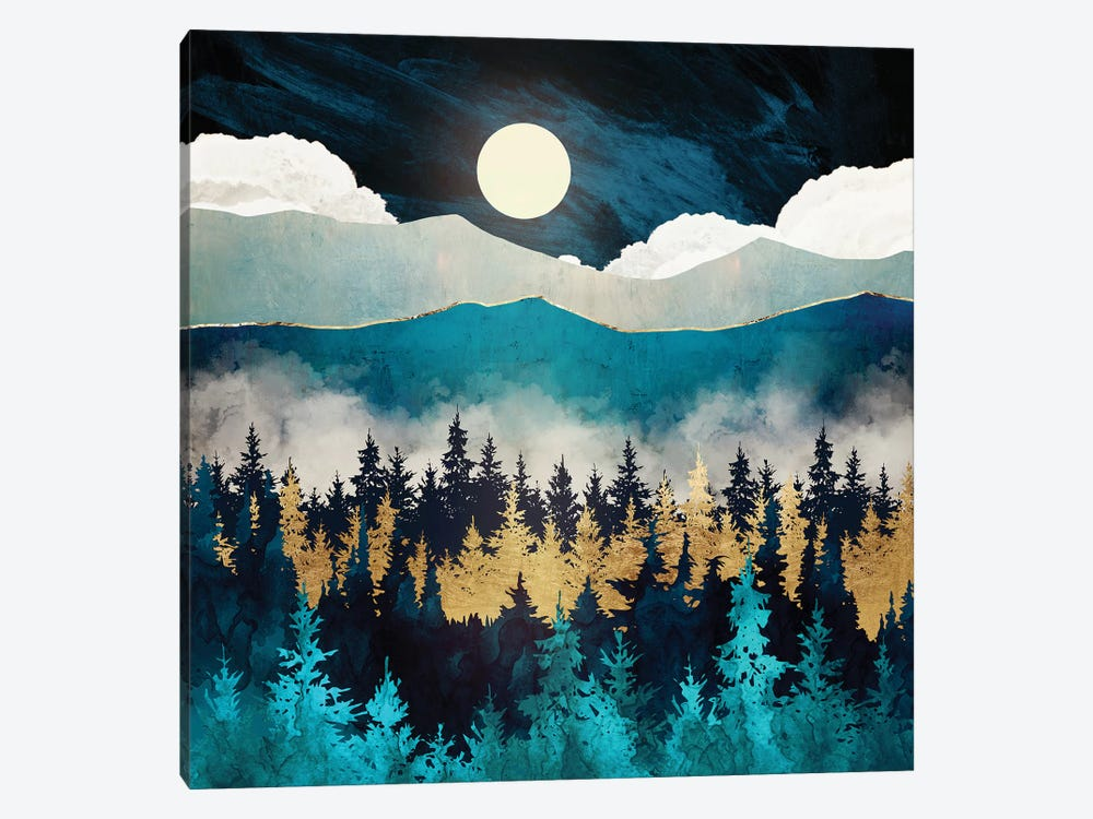 Evening Mist by SpaceFrog Designs 1-piece Canvas Art