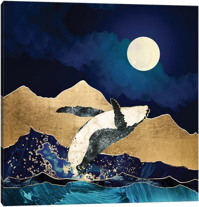 Live Free Canvas Art Print