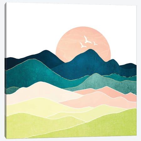 Spring Vista Canvas Print #SFD207} by SpaceFrog Designs Canvas Artwork