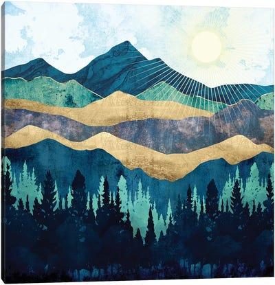 Blue Forest Canvas Art Print