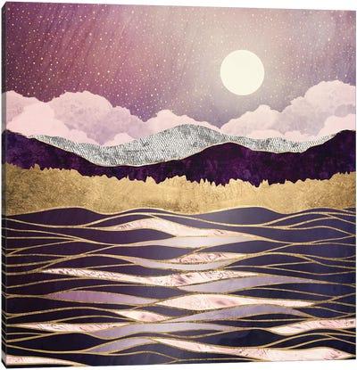 Lunar Waves Canvas Art Print