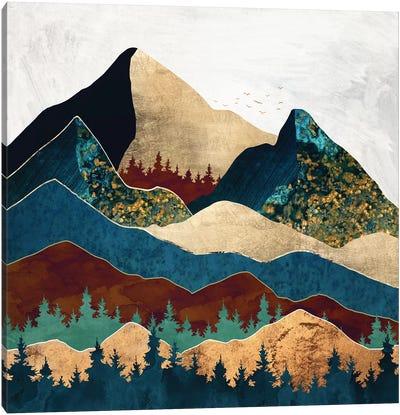 Malachite Mountains Canvas Art Print