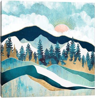 Summer Forest Canvas Art Print