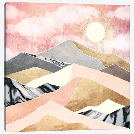 Summer Sun Canvas Print #SFD219} by SpaceFrog Designs Canvas Art