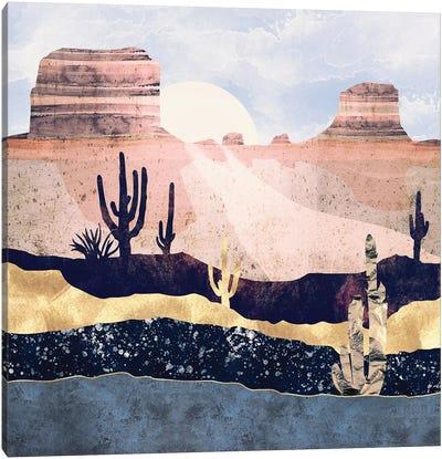 Autumn Desert Canvas Art Print
