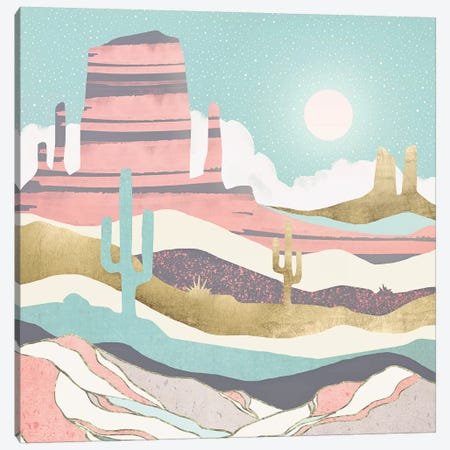 Desert Sun Canvas Print #SFD223} by SpaceFrog Designs Canvas Print