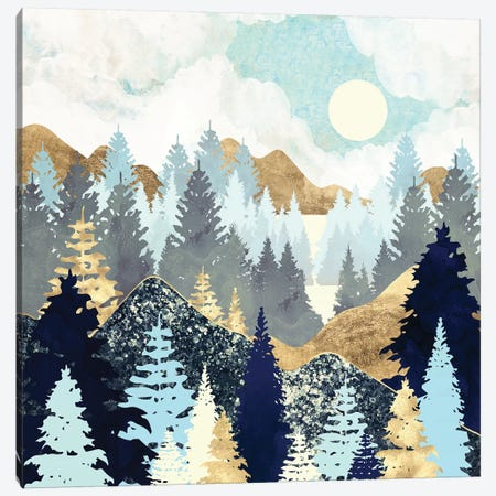 Forest Vista Canvas Print #SFD225} by SpaceFrog Designs Canvas Art