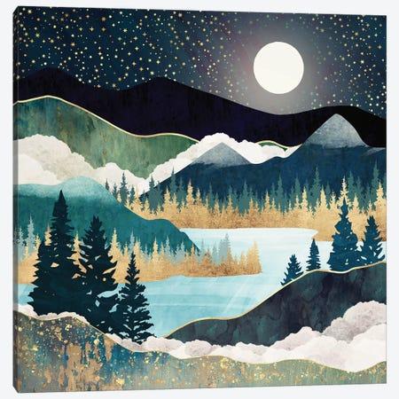 Star Lake Canvas Print #SFD230} by SpaceFrog Designs Canvas Artwork