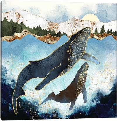 Bond V Canvas Art Print