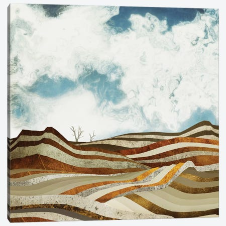 Desert Calm Canvas Print #SFD23} by SpaceFrog Designs Art Print