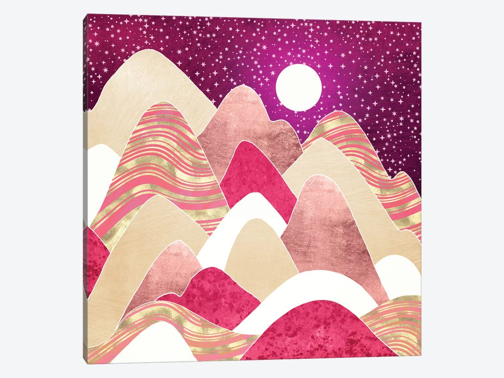 Candyland Vista by SpaceFrog Designs 1-piece Canvas Wall Art