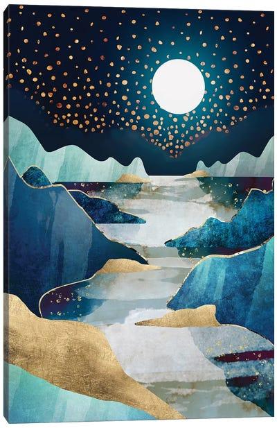 Moon Glow Canvas Art Print