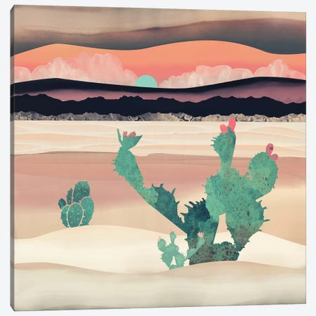 Desert Dawn Canvas Print #SFD25} by SpaceFrog Designs Canvas Artwork