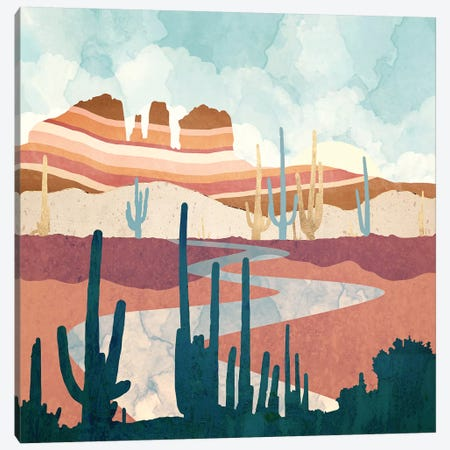 Desert Vista Canvas Print #SFD264} by SpaceFrog Designs Canvas Artwork