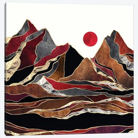 Copper Vista Canvas Print #SFD266} by SpaceFrog Designs Canvas Artwork