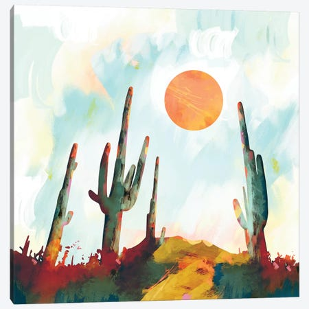 Desert Day Canvas Print #SFD26} by SpaceFrog Designs Canvas Artwork