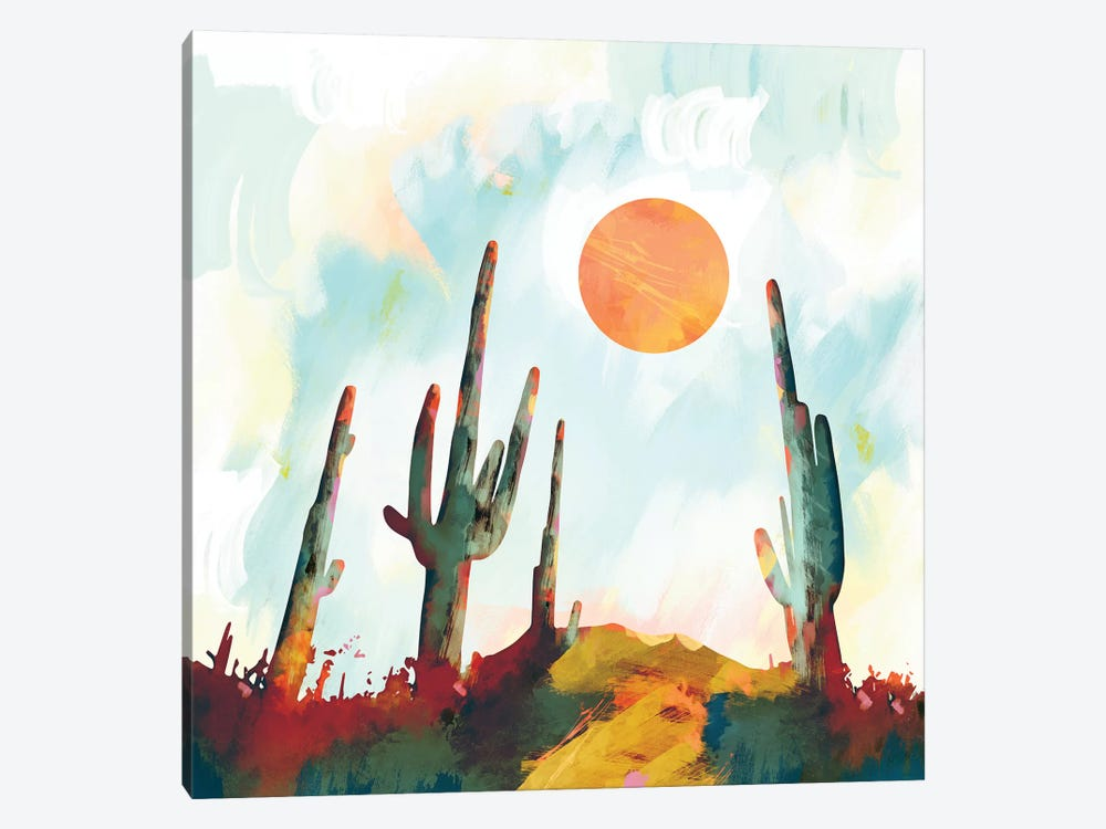 Desert Day by SpaceFrog Designs 1-piece Art Print