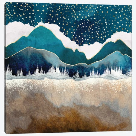 Late Winter Canvas Print #SFD272} by SpaceFrog Designs Canvas Art