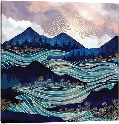 Ocean Sunrise Canvas Art Print