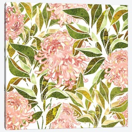 Spring Floral II Canvas Print #SFD277} by SpaceFrog Designs Canvas Print