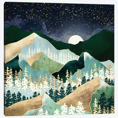 Spring Night Vista Canvas Print #SFD278} by SpaceFrog Designs Canvas Art