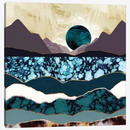 Desert Lake Canvas Print #SFD27} by SpaceFrog Designs Canvas Art