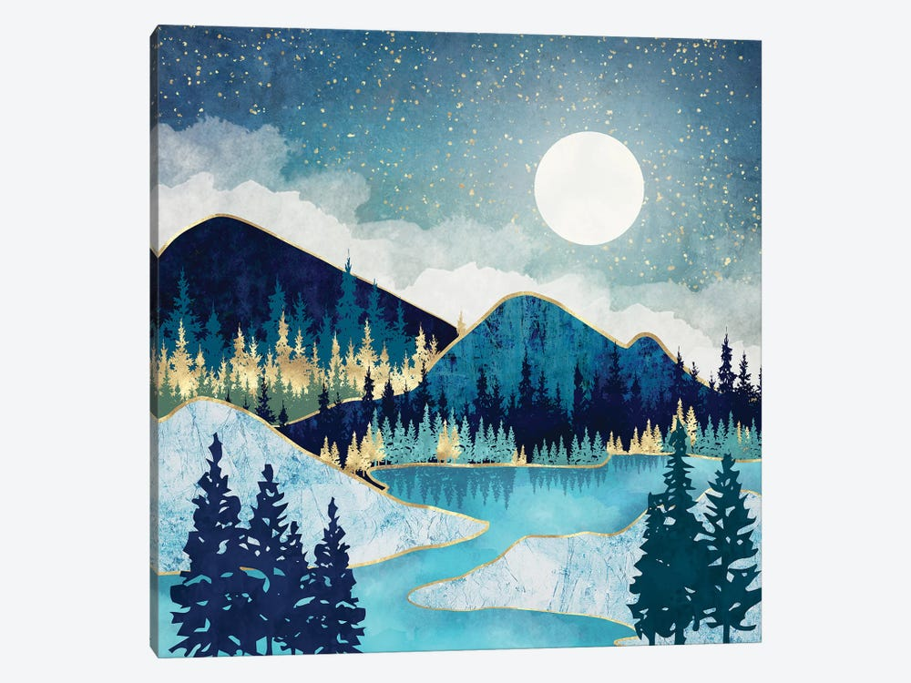 Morning Stars by SpaceFrog Designs 1-piece Canvas Art Print