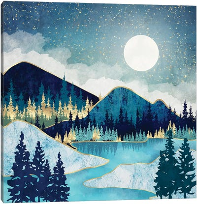 Morning Stars Canvas Art Print