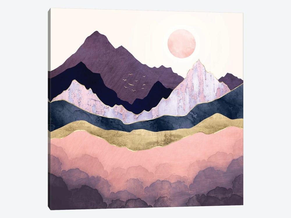 Mauve Mist by SpaceFrog Designs 1-piece Canvas Art Print