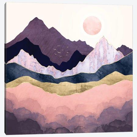 Mauve Mist Canvas Print #SFD283} by SpaceFrog Designs Art Print