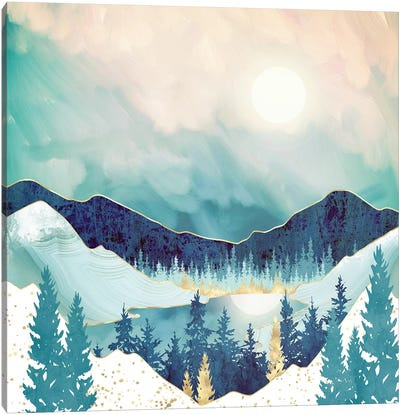 Sky Reflection Canvas Art Print