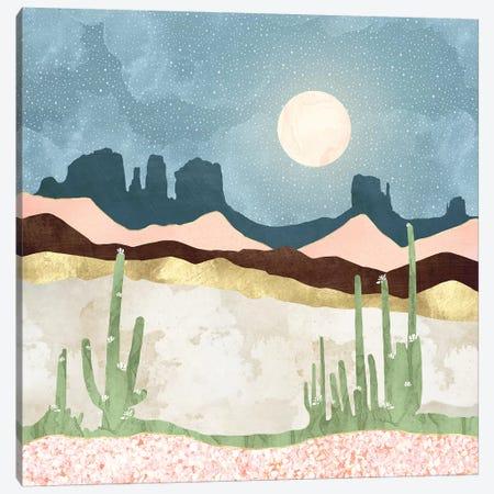 Desert Bloom Canvas Print #SFD289} by SpaceFrog Designs Art Print