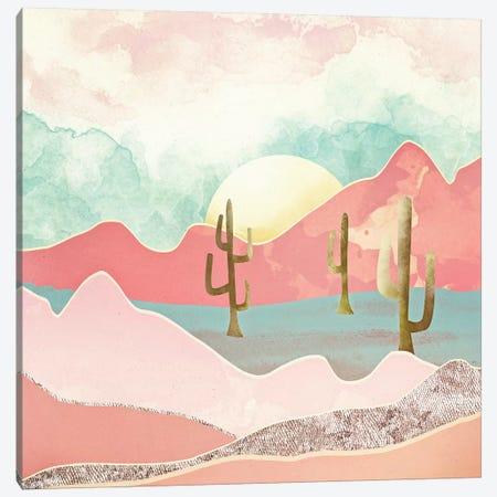 Desert Mountain Canvas Print #SFD28} by SpaceFrog Designs Canvas Art Print