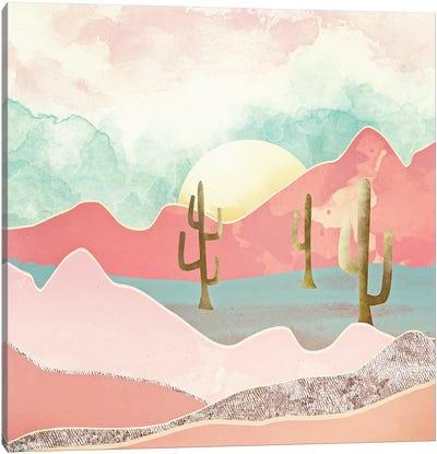Desert Mountain Canvas Art Print