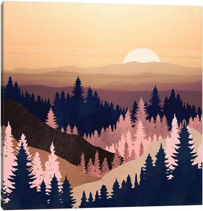 Summer Dusk Canvas Art Print