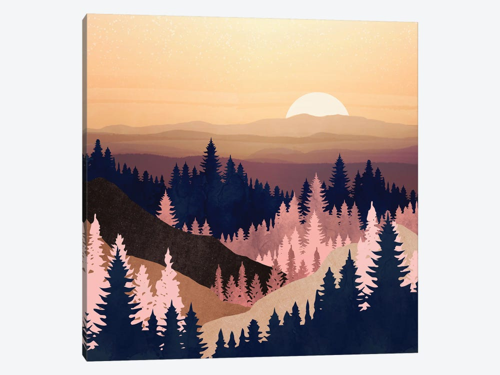 Summer Dusk by SpaceFrog Designs 1-piece Canvas Wall Art